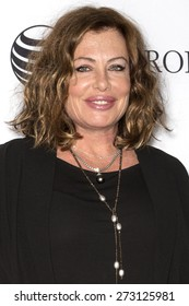 NEW YORK, NY - APRIL 25. 2015:Actress Kelly LeBrock attends the closing night screening of 'Goodfellas' during the 2015 Tribeca Film Festival at Beacon Theatre