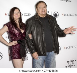NEW YORK, NY - APRIL 25: Actor Paul Sorvino (R) and Dee Dee Benkie attend the closing night screening of 'Goodfellas' during the 2015 Tribeca Film Festival at Beacon Theatre
