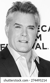 NEW YORK, NY - APRIL 25: Actor Ray Liotta attends the closing night screening of 'Goodfellas' during the 2015 Tribeca Film Festival at Beacon Theatre