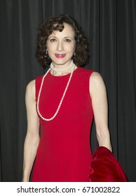 New York, NY - April 25, 2016: Bebe Neuwirth attends The Actors Fund 2016 gala at Marriott Marquis hotel