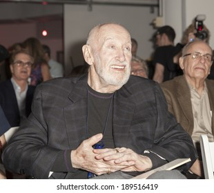 NEW YORK, NY - APRIL 26, 2014: Bruce Lundvall attends 23rd annual Jazz loft party for Jazz Foundation of America at Hudson Studios