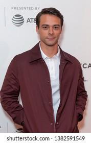 New York, NY - April 27, 2019: Adam Long attends world premiere of The Kill Team during Tribeca Film Festival at Stella Artois Theatre at BMCC TRAC