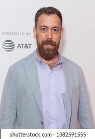 New York, NY - April 27, 2019: Dan Krauss attends world premiere of The Kill Team during Tribeca Film Festival at Stella Artois Theatre at BMCC TRAC