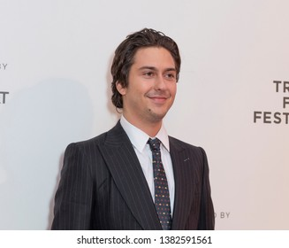 New York, NY - April 27, 2019: Nat Wolff attends world premiere of The Kill Team during Tribeca Film Festival at Stella Artois Theatre at BMCC TRAC