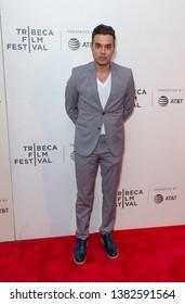 New York, NY - April 27, 2019: Brian Marc attends world premiere of The Kill Team during Tribeca Film Festival at Stella Artois Theatre at BMCC TRAC