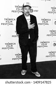 "New York, NY - April 27, 2019: Ethan Hawke attends the premiere of the ""Good Posture"" during the 2019 Tribeca Film Festival at SVA Theater"