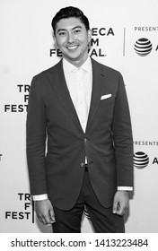 """New York, NY - April 27, 2019: Director Takashi Dossier attends the World premiere of """"Only"""" during the 2019 Tribeca Film Festival at SVA Theater"""