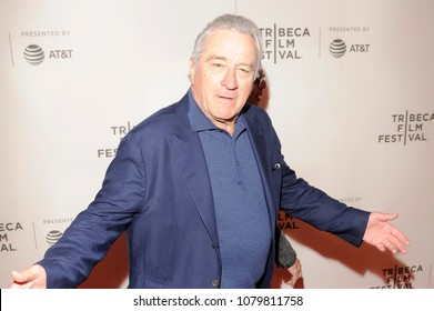 NEW YORK, NY - APRIL 28: Robert De Niro attends 2018 Tribeca Film Festival closing night screening of 'The Fourth Estate' at BMCC Tribeca PAC on April 28, 2018 in New York City.