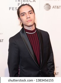 New York, NY - April 28, 2019: Actor Stephen Dinh attends World premiere of movie Dreamland at Stella Artois Theatre at BMCC TRAC