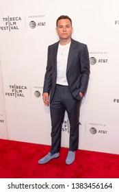 New York, NY - April 28, 2019: Actor Finn Cole attends World premiere of movie Dreamland at Stella Artois Theatre at BMCC TRAC