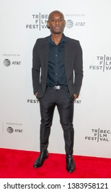 New York, NY - April 28, 2019: Julius Onah attends premiere of movie Luce during 2019 Tribeca Film Festival at Stella Artois Theatre at BMCC TRAC