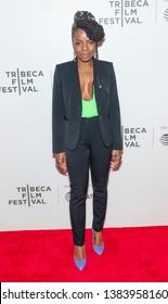 New York, NY - April 28, 2019: Marsha Stephanie Blake attends premiere of movie Luce during 2019 Tribeca Film Festival at Stella Artois Theatre at BMCC TRAC