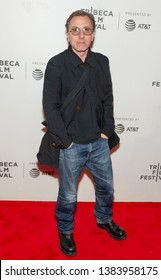 New York, NY - April 28, 2019: Tim Roth attends premiere of movie Luce during 2019 Tribeca Film Festival at Stella Artois Theatre at BMCC TRAC