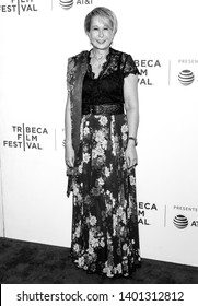 "New York, NY - April 28, 2019: US actress and voice of 'Lisa Simpson' Yeardley Smith attends ""The Simpsons"" 30th Anniversary celebration during the 2019 Tribeca Film Festival at BMCC"