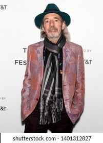 "New York, NY - April 28, 2019: US actor and voice of multiple Simpsons characters Harry Shearer attends ""The Simpsons"" 30th Anniversary celebration during the 2019 Tribeca Film Festival at BMCC"