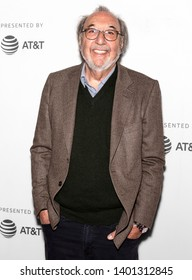 """New York, NY - April 28, 2019: Executive producer James L. Brooks attends """"The Simpsons"""" 30th Anniversary celebration during the 2019 Tribeca Film Festival at BMCC"""