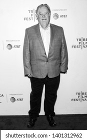 "New York, NY - April 28, 2019: ""The Simpsons"" creator Matt Groening attends ""The Simpsons"" 30th Anniversary celebration during the 2019 Tribeca Film Festival at BMCC"