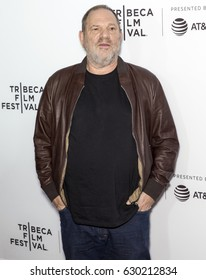 NEW YORK, NY - APRIL 28, 2017: Film Producer Harvey Weinstein attends the 'Reservoir Dogs' 25th Anniversary Screening during 2017 Tribeca Film Festival at The Beacon Theatre
