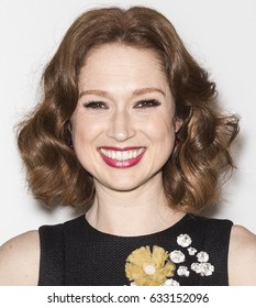 NEW YORK, NY - APRIL 28, 2017: Ellie Kemper attends the 'Unbreakable Kimmy Schmidt' screening during 2017 Tribeca Film Festival at BMCC Tribeca PAC