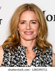 "New York, NY - April 29, 2019: Elizabeth Shue attends the ""The Boys"" screening during the 2019 Tribeca Film Festival at SVA Theater"