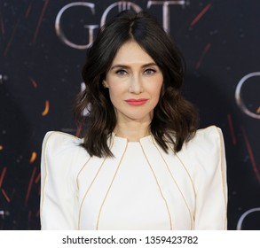 New York, NY - April 3, 2019: Carice van Houten attends HBO Game of Thrones final season premiere at Radion City Music Hall