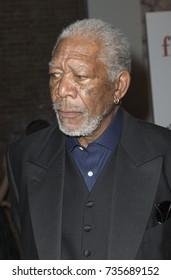 New York, NY - April 30, 2015: Morgan Freeman attends the 5 Flights Up New York premiere at BAM Rose Cinemas