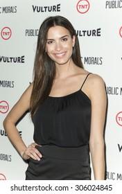 New York, NY - August 12, 2015: Natalia Beber attends the Public Morals New York series screening at Tribeca Grand Hotel Screening Room