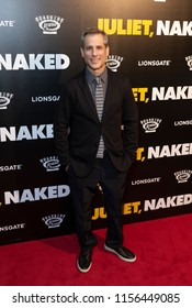 New York, NY - August 14, 2018: Barry Mendel attends premiere of 'Juliet, Naked' at Metrograph