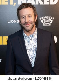 New York, NY - August 14, 2018: Chris O'Dowd attends premiere of 'Juliet, Naked' at Metrograph