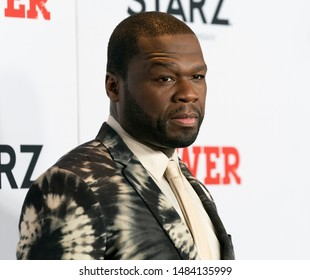 New York, NY - August 20, 2019: Curtis 50 Cents Jackson attends STARZ Power Season 6 premiere at Madison Square Garden