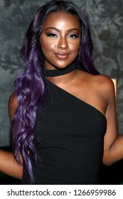 NEW YORK, NY - AUGUST 24:  Justine Skye celebrates her 21st Birthday Dinner at Jue Lan Club on August 24, 2016 in New York City.