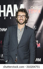New York, NY - August 25, 2015: Josh Groban attends party after Misty Copeland debut performance in Broadway musical On The Town in Lambs Club