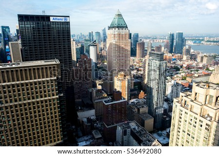 93336f35 New York NY August 27 2016 Stock Photo (Edit Now) 536492080 ...
