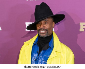 NEW YORK, NY - DECEMBER 03: Billy Porter attends the 2019 FN Achievement Awards at IAC Building on December 03, 2019 in New York City.