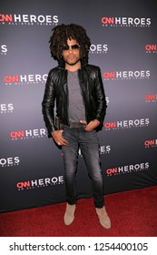 NEW YORK, NY - DECEMBER 09: Lenny Kravitz attends the 12th Annual CNN Heroes: An All-Star Tribute at American Museum of Natural History on December 9, 2018 in New York City.
