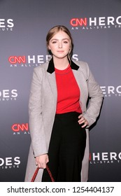 NEW YORK, NY - DECEMBER 09: Elsie Fisher attends the 12th Annual CNN Heroes: An All-Star Tribute at American Museum of Natural History on December 9, 2018 in New York City.
