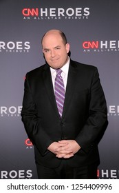 NEW YORK, NY - DECEMBER 09: Brian Stelter attends the 12th Annual CNN Heroes: An All-Star Tribute at American Museum of Natural History on December 9, 2018 in New York City.