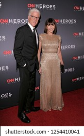 NEW YORK, NY - DECEMBER 09: Ted Danson (L) and Mary Steenburgen attend the 12th Annual CNN Heroes: An All-Star Tribute at American Museum of Natural History on December 9, 2018 in New York City.