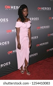 NEW YORK, NY - DECEMBER 09: Danai Gurira attend the 12th Annual CNN Heroes: An All-Star Tribute at American Museum of Natural History on December 9, 2018 in New York City.