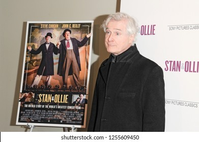 NEW YORK, NY - DECEMBER 10: Playwrighter John Patrick Shanley attends the 'Stan & Ollie' New York screening at Elinor Bunin Munroe Film Center on December 10, 2018 in New York City.