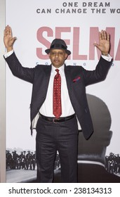 NEW YORK, NY - DECEMBER 14, 2014: Actor Ruben Santiago-Hudson attends the 'Selma' New York Premiere at the Ziegfeld Theater