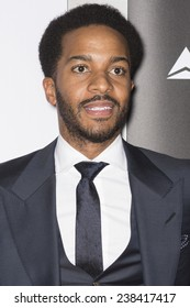 NEW YORK, NY - DECEMBER 14, 2014: Actor Andre Holland attends the 'Selma' New York Premiere at the Ziegfeld Theater