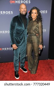 NEW YORK, NY - DECEMBER 17: Common and Angela Rye attend 11th Annual CNN Heroes: An All-Star Tribute at American Museum of Natural History on December 17, 2017 in New York City.