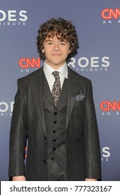 NEW YORK, NY - DECEMBER 17: Gaten Matarazzo attends CNN Heroes 2017 at the American Museum of Natural History on December 17, 2017 in New York City.