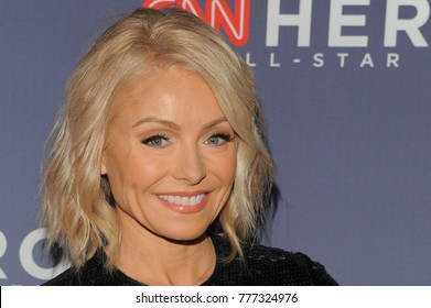 NEW YORK, NY - DECEMBER 17: Kelly Ripa attends CNN Heroes 2017 at the American Museum of Natural History on December 17, 2017 in New York City.