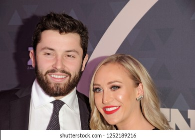 NEW YORK, NY - DECEMBER 4: Baker Mayfield attends the 32nd FN Achievement Awards at IAC Headquarters on December 4, 2018 in New York City.