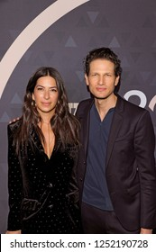 NEW YORK, NY - DECEMBER 4: Rebecca Minkoff and Uri Minkoff attend the 32nd FN Achievement Awards at IAC Headquarters on December 4, 2018 in New York City.