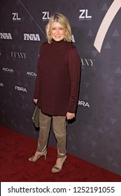 NEW YORK, NY - DECEMBER 4: Martha Stewart attends the 32nd FN Achievement Awards at IAC Headquarters on December 4, 2018 in New York City.