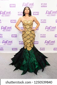 New York, NY - December 5, 2018: Manila Luzon attends Meet the Queens of RuPaul's Drag Race All Stars by VH1 at TRL Studios