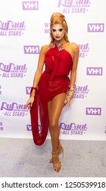 New York, NY - December 5, 2018: Valentina attends Meet the Queens of RuPaul's Drag Race All Stars by VH1 at TRL Studios